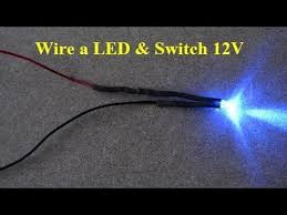 how to wire a car led and rocker switch 12v mmd