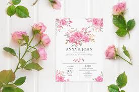 Announcement Cards Wedding Free Wedding Invitation Card Mockup Creativetacos
