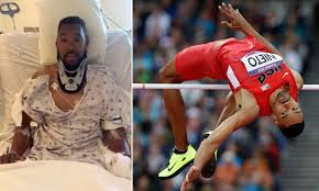 The running high jump, an olympic event for men since 1896, was included in the first women's olympic athletics program in 1928. Paralyzed Former Us Olympic High Jumper Jamie Nieto Explains How He Is Lucky To Be Alive Daily Mail Online