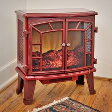 Duraflame 950 Cranberry Electric Fireplace Stove with Remote ...