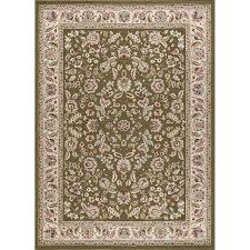 8 x 10 large green gold and ivory area rug laa rc willey furniture