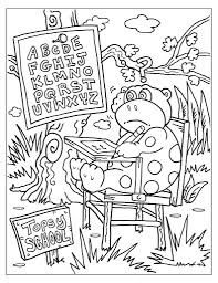 Small Picture School Coloring Page diaetme