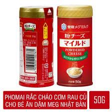 Phomai Rắc Cháo cơm rau củ Meg 50g cho bé ăn dặm Nhật Bản