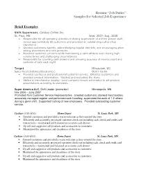 Cashier Duties Resume Wonderful 9523 Resume For Cashier Job It Resumes And Duties Cashier Job Description