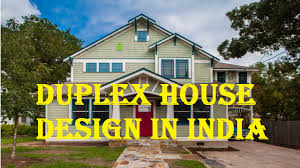 Small Picture Duplex House Design in India YouTube