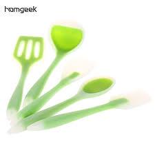 kitchen utensil set tools kitchen tool set pcs silicone kicthen cooking spatula cooking spoon so