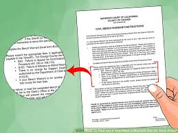 Have An Arrest Warrant In California Hereu0027s What To DoHow To Deal With A Bench Warrant