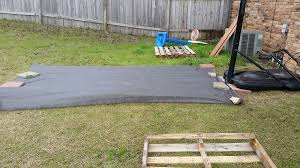 diy backyard basketball court. Beautiful Diy Our Pallet Hack  Being Renters Changes The Game We Wanted A Basketball  Court But It Had To Be Something That Was Not Permanent Solutionpallets Intended Diy Backyard Basketball Court Pinterest