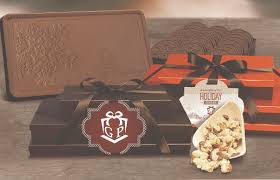 introducing our new molded chocolate corporate gifts on