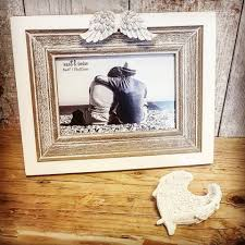 photo frame with angel wings 6x4