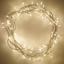 White Indoor Fairy Lights Indoor Fairy Lights With 100 Warm White Leds On 8m Of Clear