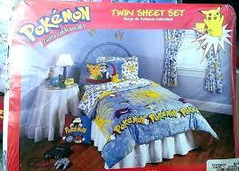 sheets queen twin mermaid bedding pokemon set