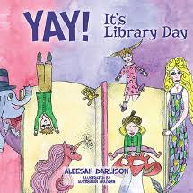 ilrated by children from around australia yay it s library day reminds readers of the importance of libraries and books