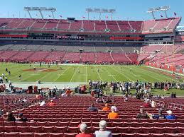 Raymond James Stadium Section 137 Tampa Bay Buccaneers
