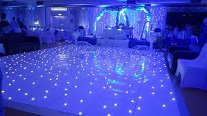 starlit dancefloor wedding party hire in north east teesside uk platinum starlight photobooth dancefloor hire north east