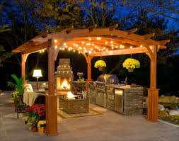 Outdoor Lighting Patio Ideas Patio Ideas And Patio Design - Hanging exterior lights