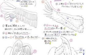 ツバサの描き方美しい天使の羽を描くときのダメなことと
