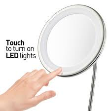 led light up makeup mirror. probeautify 3x magnifying lighted makeup mirror - 10\ led light up