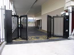 folding gate design es elite industries automatic gates