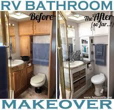 bathroom remodel do it yourself. New Tile Flooring Painted Rhpinterestcom Glamorous Rv Do It Yourself Rhpozadinenet Bathroom Camper Remodel G
