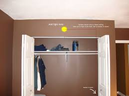 small closet lighting ideas. closet lighting ideas style home design amazing simple and small bibliafullcom