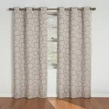 com eclipse meridian 84 inch blackout window curtain panel linen home kitchen