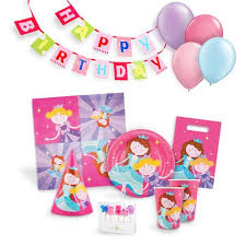 Princess Birthday Party Kit for 12 \u2013 Serabeena