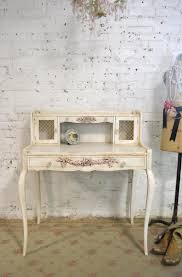 shabby chic office furniture. french desk painted cottage chic shabby white romantic pr office furniture