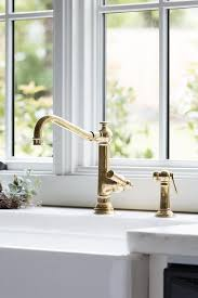 Brass Kitchen Faucet Kitchen Design