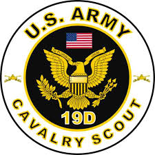 army recon scout us army mos 19d cavalry scout decal us army mos decals