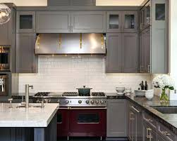 grey cabinets with white countertops full size