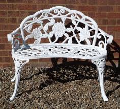 white cast iron patio furniture. Cast Iron Patio Furniture White S