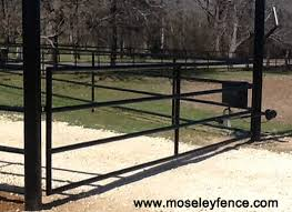 farm fence gate. Pipe Rail Ranch Gate, Moseleyfence.com, Barbed Wire Fence Farm Gate