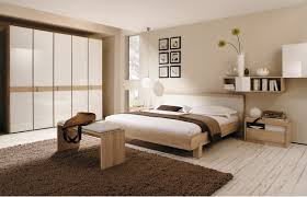 bedroom: Beige Asian Bedroom Design Ideas With Trendy White Closet  Furniture And Comfortable Wood Platform