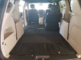 image of 2017 dodge caravan interior dimensions with seats folded down