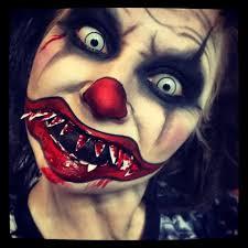 scary clown face makeup evil tutorial you