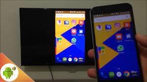 Telefon ekranını kablosuz olarak televizyona yansıtma - YouTube