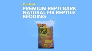 zoo med premium repti bark natural fir reptile bedding 24 qt bag chewy com