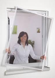 Insektenschutz Fliegengitter Fenster Alurahmen Ohne Bohren 120 X 140