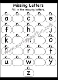 Our missing letters worksheets help kids develop their spelling skills. Letters Missing Letters Free Printable Worksheets Worksheetfun