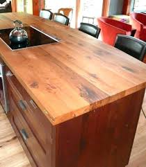 diy wood kitchen countertops distressed wood via do it yourself wooden kitchen countertops