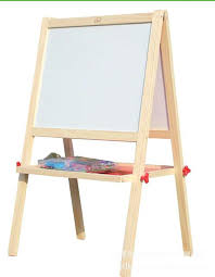 painting board wood color double sided magnetic drawing board to support wood easel fold painting easel