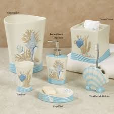 Bathroom Beach Accessories Bathroom Accessory Sets Touch Of Class