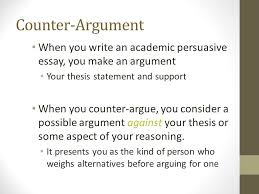 position paper essay position paper writing guidelines essay  counterarguments ms tanner rmfall expanding your position counterargument when you write an academic persuasive essay you