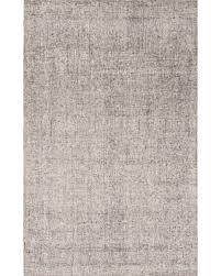Jaipur Rugs RUG116584 HandTufted Solid Pattern Wool IvoryGray Area Rug   9x12
