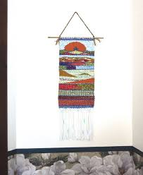 hand woven wall hanging tapestry wall