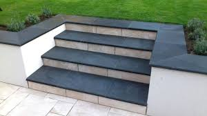 2 tone steps patio steps outdoor