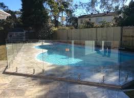 glass pool fence west pymble nsw mirage frameless glass sydney