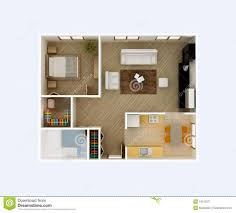 Bedroom Apartment Floor Plans D Also Studio Apartment Floor Plans - Studio apartment floor plans 3d