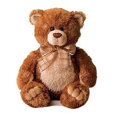 16 Inch Plush Brown Sugar Bear